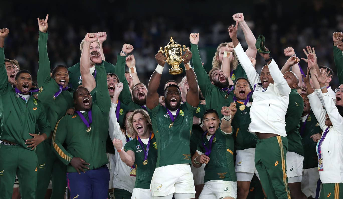 South Africa win Rugby World Cup 2019!