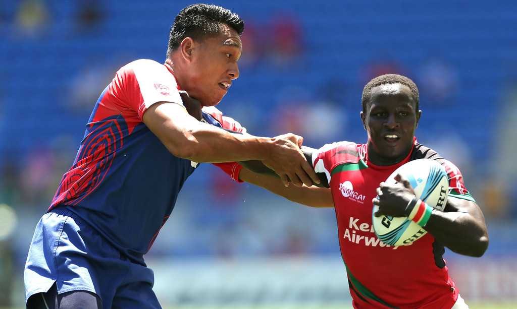 Max theuri at gold coast sevens 2014