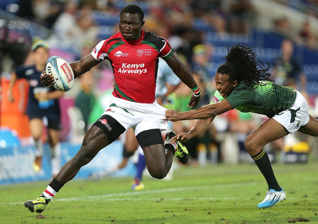 Bush Mwale vs South Africa - Gold coast 2014