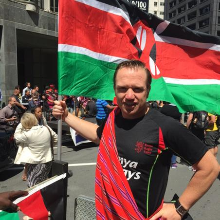 Graham Bentz Kenya sevens Strength and conditioning coach