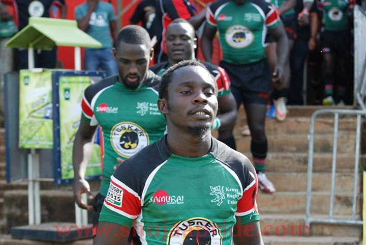 Edwin Achayo - Kabras RFC and Kenya 15s