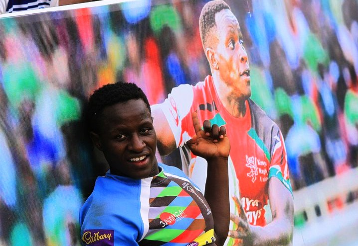 Max Theuri at Kabeberi 7s 2014
