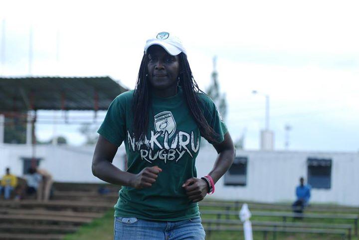 Irene Maingi Kenyan Rugby gal