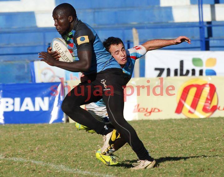Photo : Kevin Angote in action for Kenya Harlequin