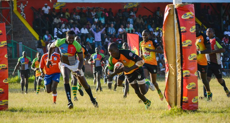 Edwins Makori in action for Nakuru RFC