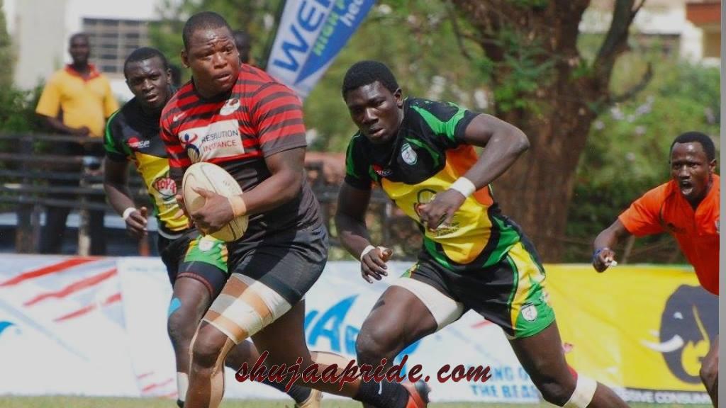 Martin Owilla chasing Brian Nyikuli