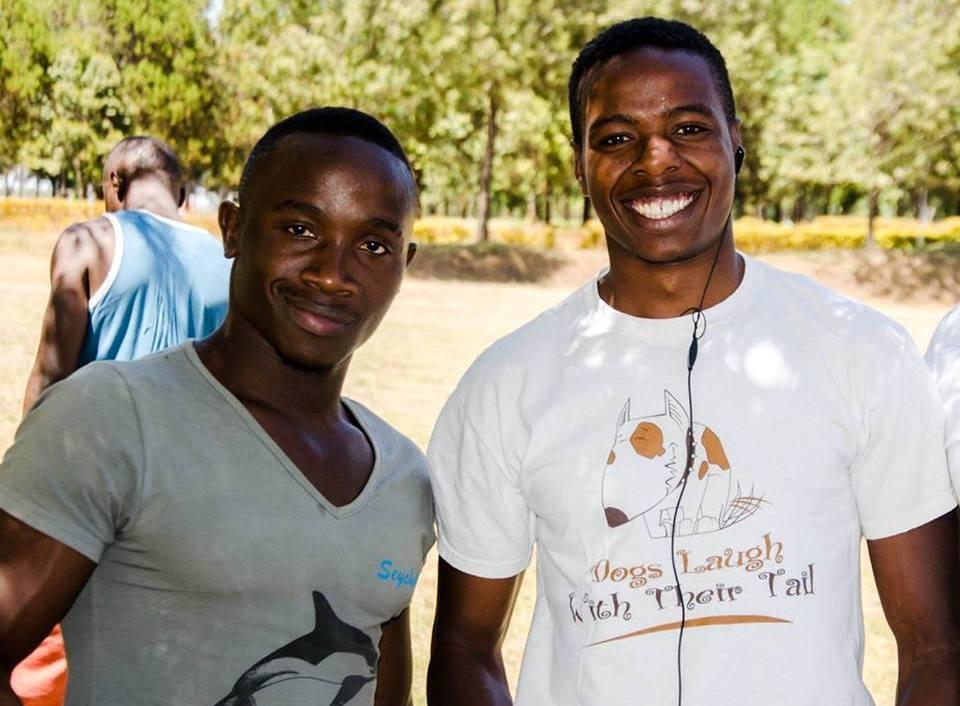 Photo : Victor Opiyo Ayimba and Crispaus