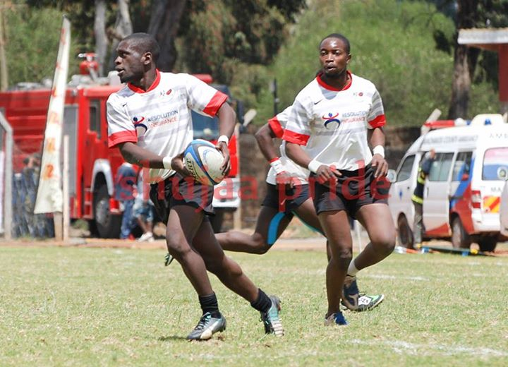 Pic : Samson Onsomu in action for Impala. 2015