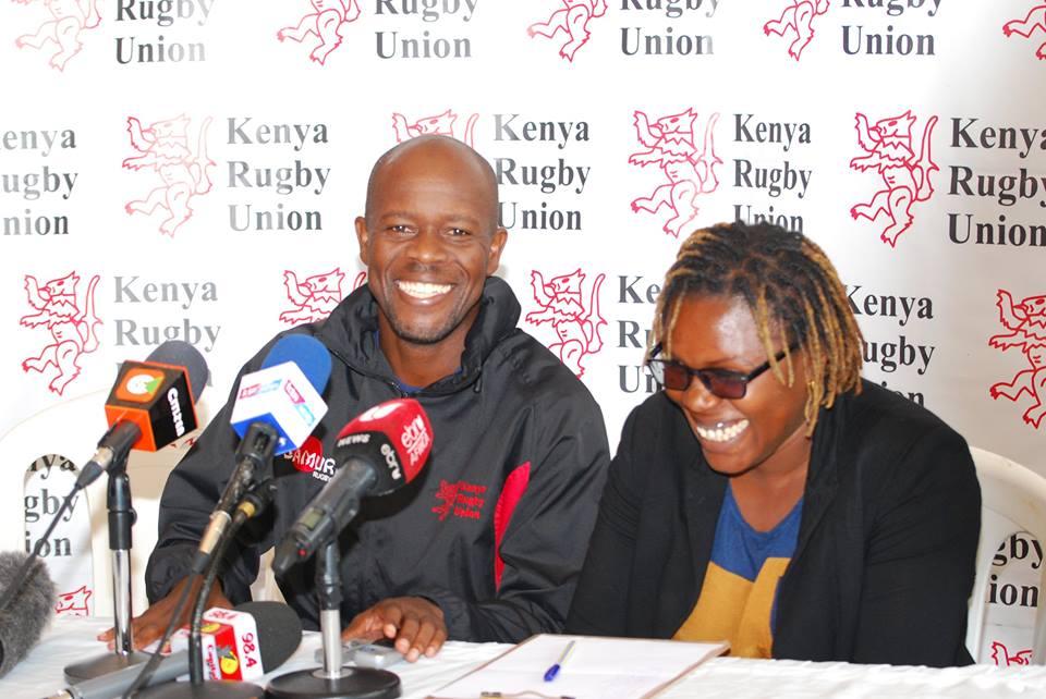 Mike Shamia and Sarah Otieno