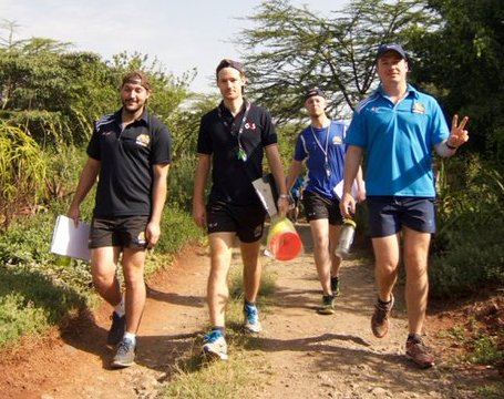Pic : Last day at Ololo Lodge! Day 3 of training. Source Twitter @Bhubesipride