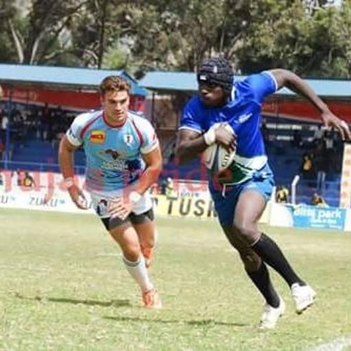 Photo : Tonnie Okello in action at the 2015 Masaku 7s