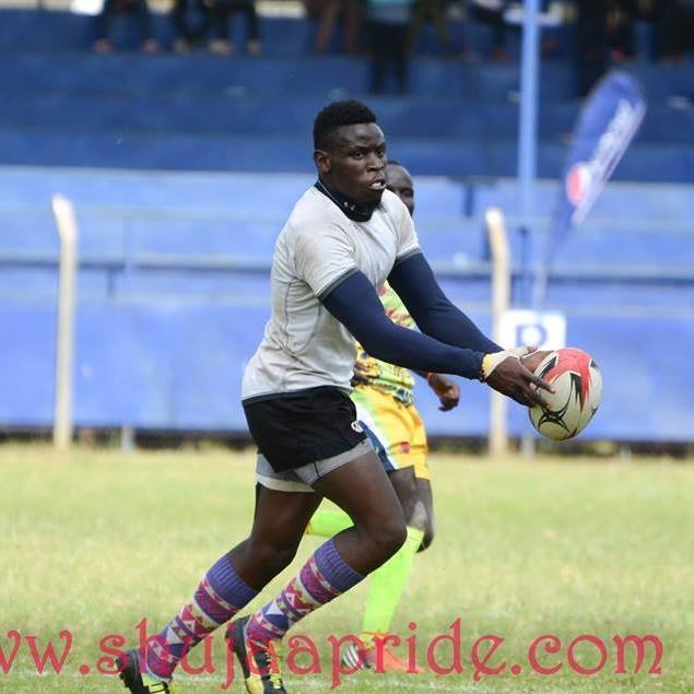 Photo : Jeremy Griffin in action at Masaku sevens