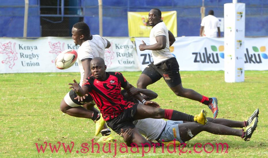 Photo : Louis Boyi in action for Catholic Monks at Masaku sevens 2016.