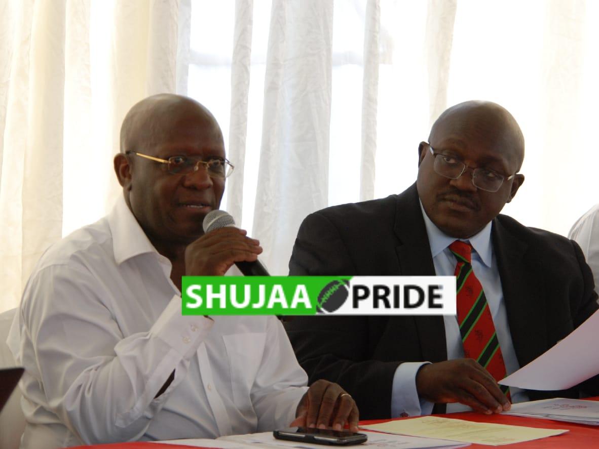 Gangla Oduor and Richard Omwela