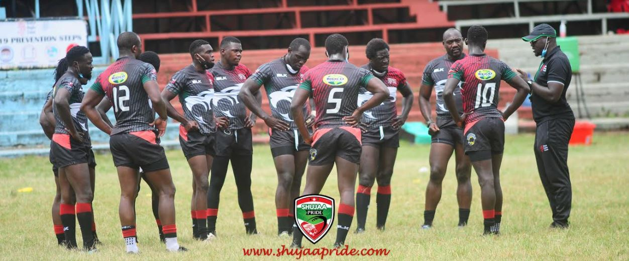 Kenya 7s training
