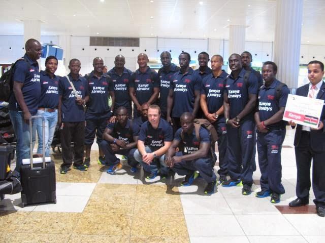 Kenya sevens squad to Wellington7s and Las Vegas 7s 2015