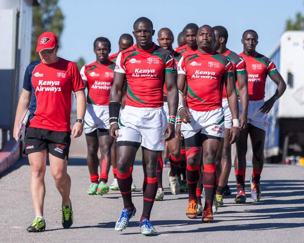 Kenya sevens Squad to Glasgow and London 7s 2015