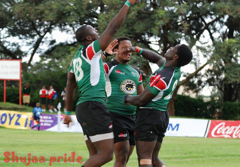 Awesome piece by Mnyore Beamo Bea Mong'ina, the rugby family