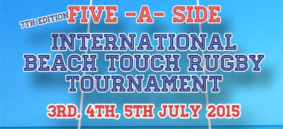 Diani Beach 5-a-side Touch Rugby Tournament 2015 edition
