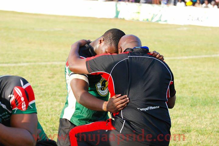 Simiyu Wangila makes a heartfelt request for motivation and support.