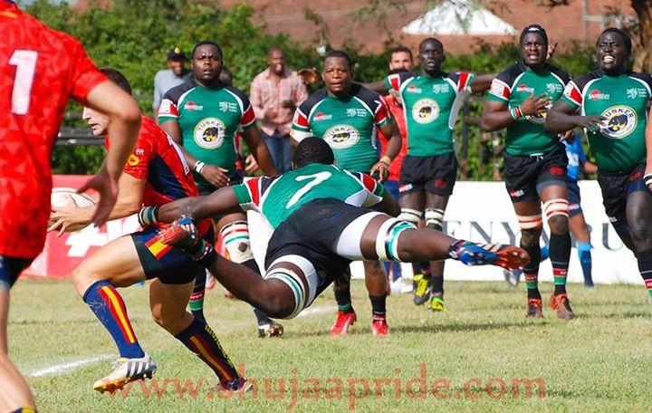 Namibia wallop Kenya XVs