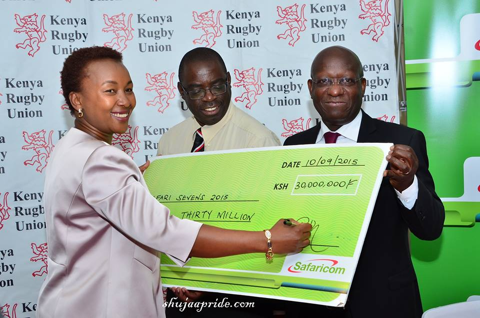 Safaricom are back to rugby sponsorship