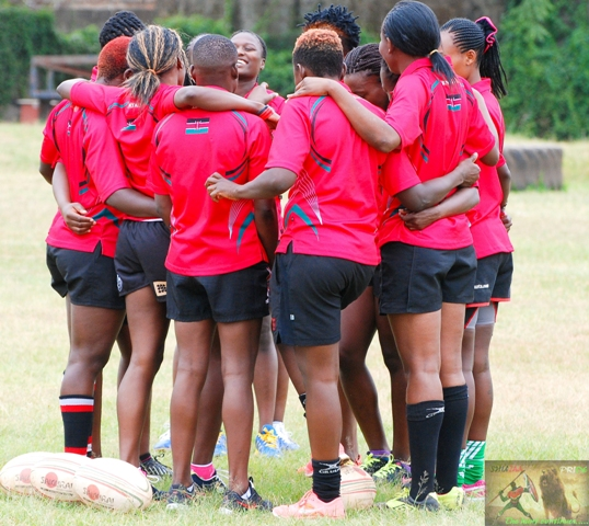 Kenya Lionesses squad travelling to South Africa for the Olympics qualifiers