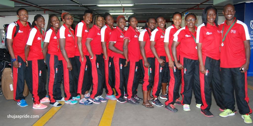 Kenya Lionesses triumphant arrival back in the country from Johannesburg