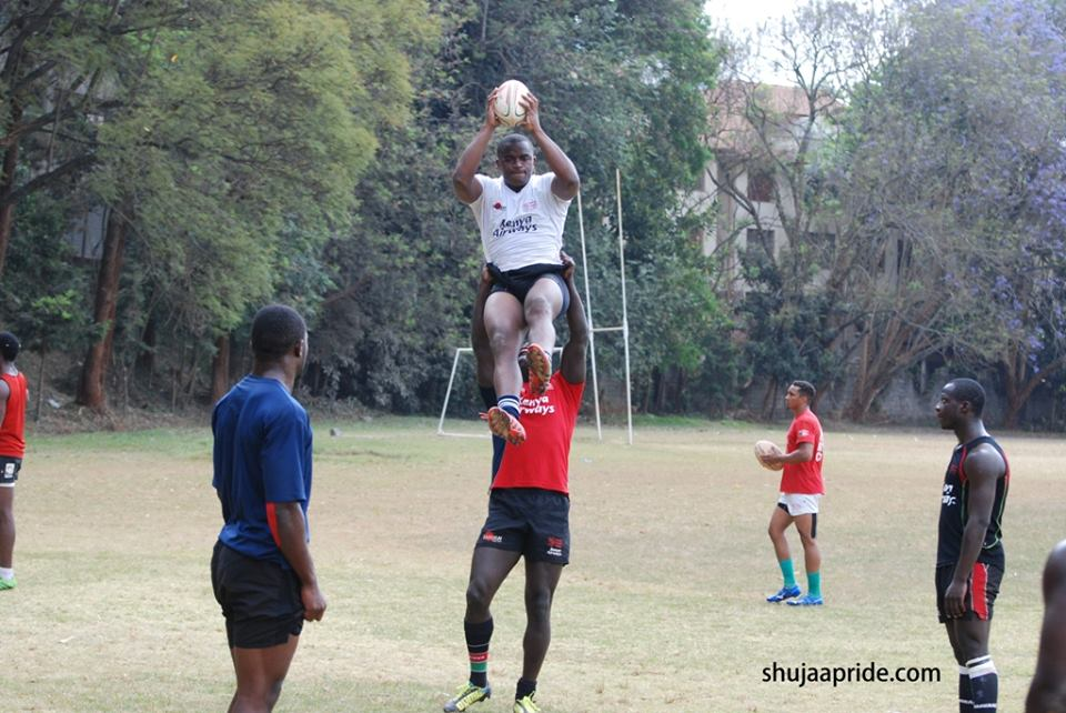Willy Ambaka shares his rugby plans with Shujaa pride