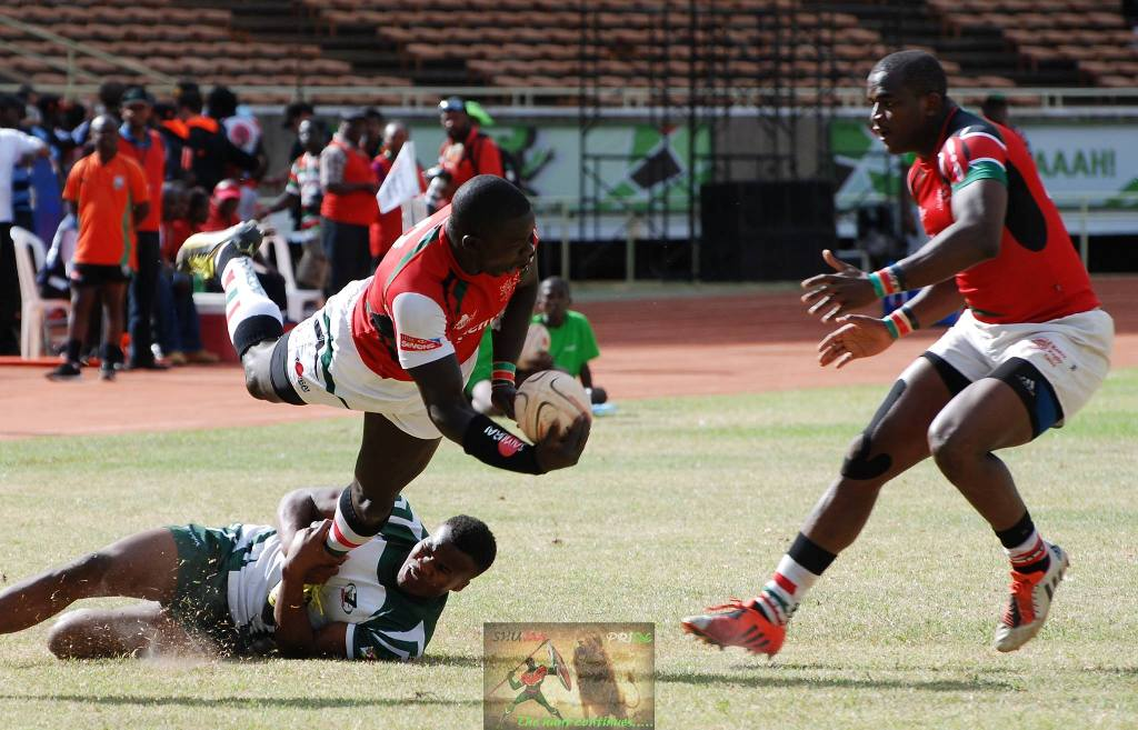 Kenya 7s whack Mauritius, Senegal and Madagascar in day one of Africa 7s