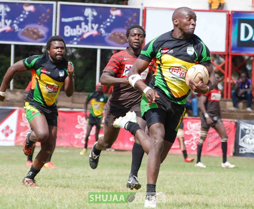 Nakuru and Kabras top the Kenya cup league table