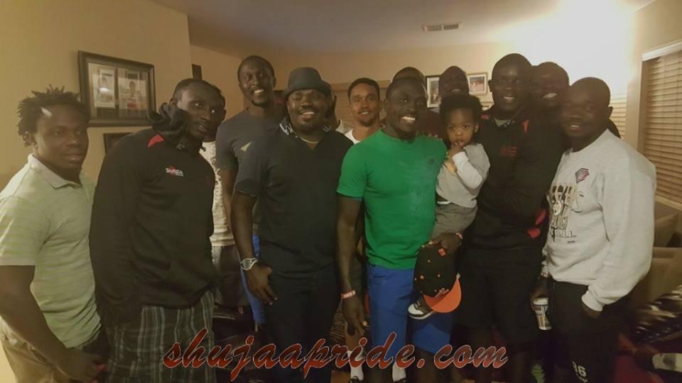 Kenya 7s in Las Vegas 2016 : Pre USA 7s