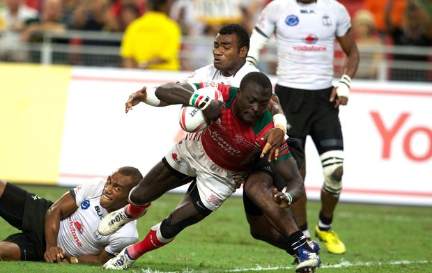 Watch : Fiji vs Kenya 7s : Hong Kong rugby sevens 2016