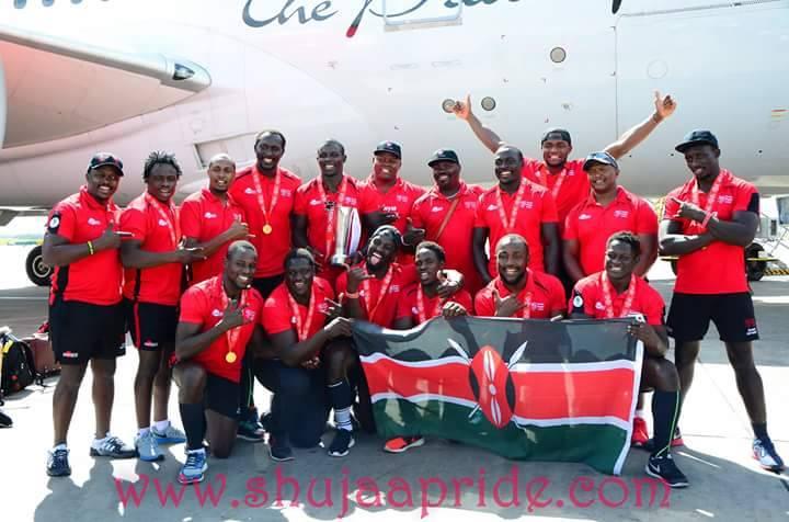 Kenya 7s squad to Paris and London sevens