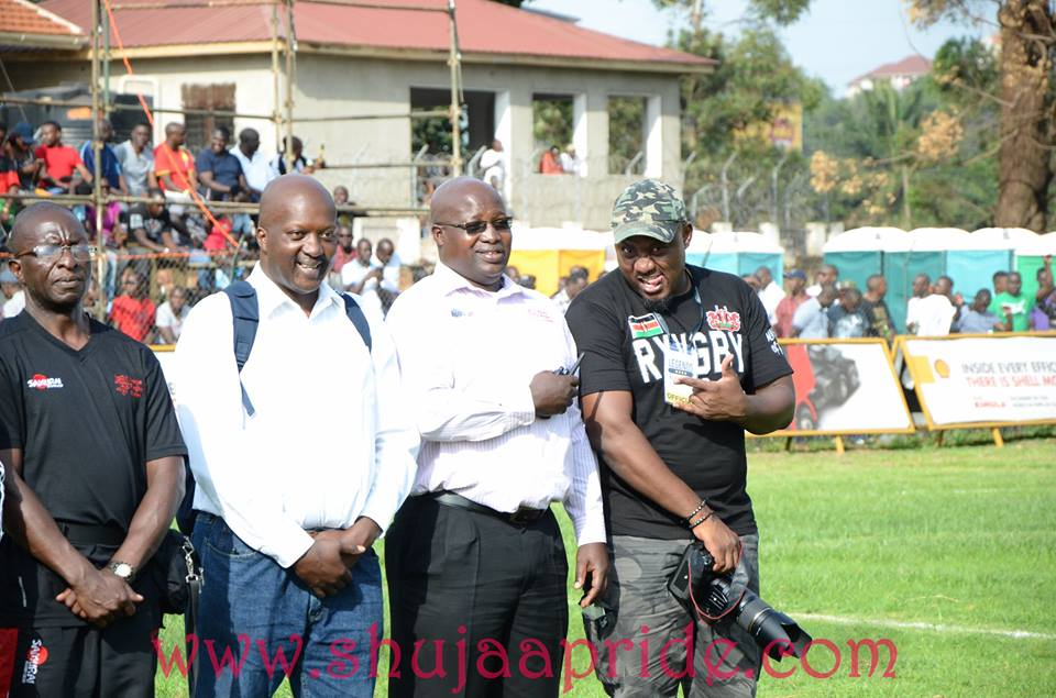 Photos : Kenya Rugby fans in Uganda