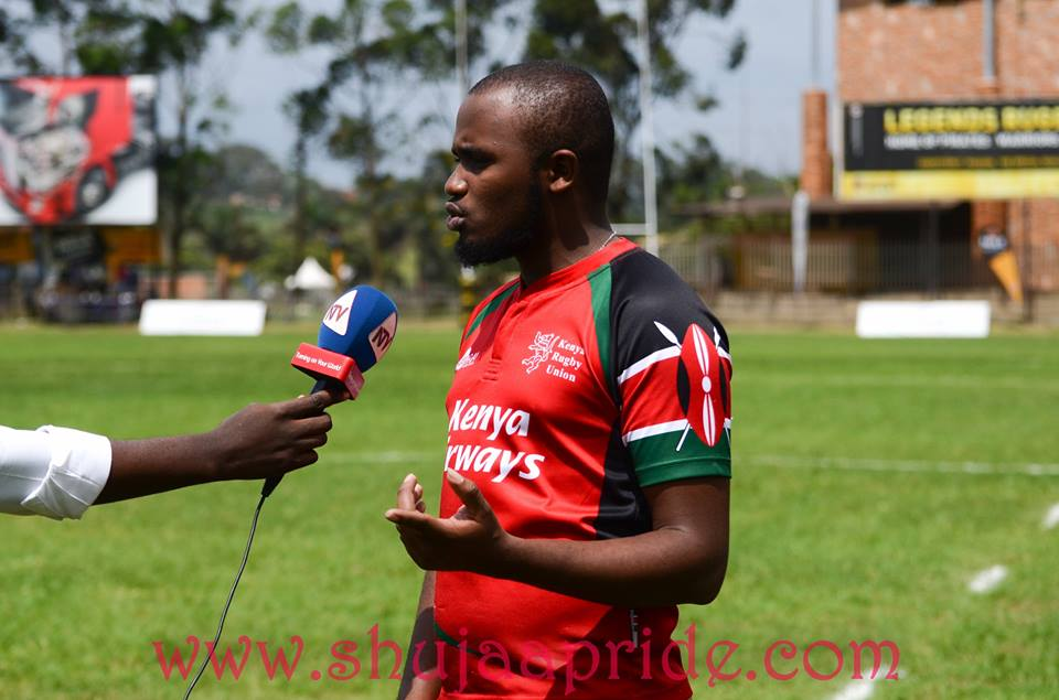Photos : Kenya Rugby fans in Uganda