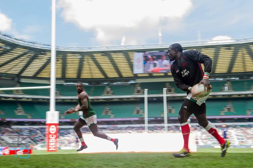 Photos : Kenya sevens at London 7s