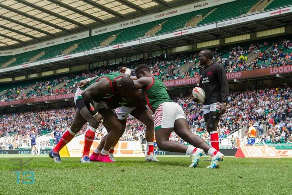 Photos : Kenya sevens at London 7s