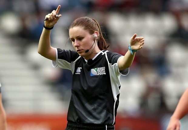 Female ref, Amy Perrett to officiate at the Olympic Rugby Games