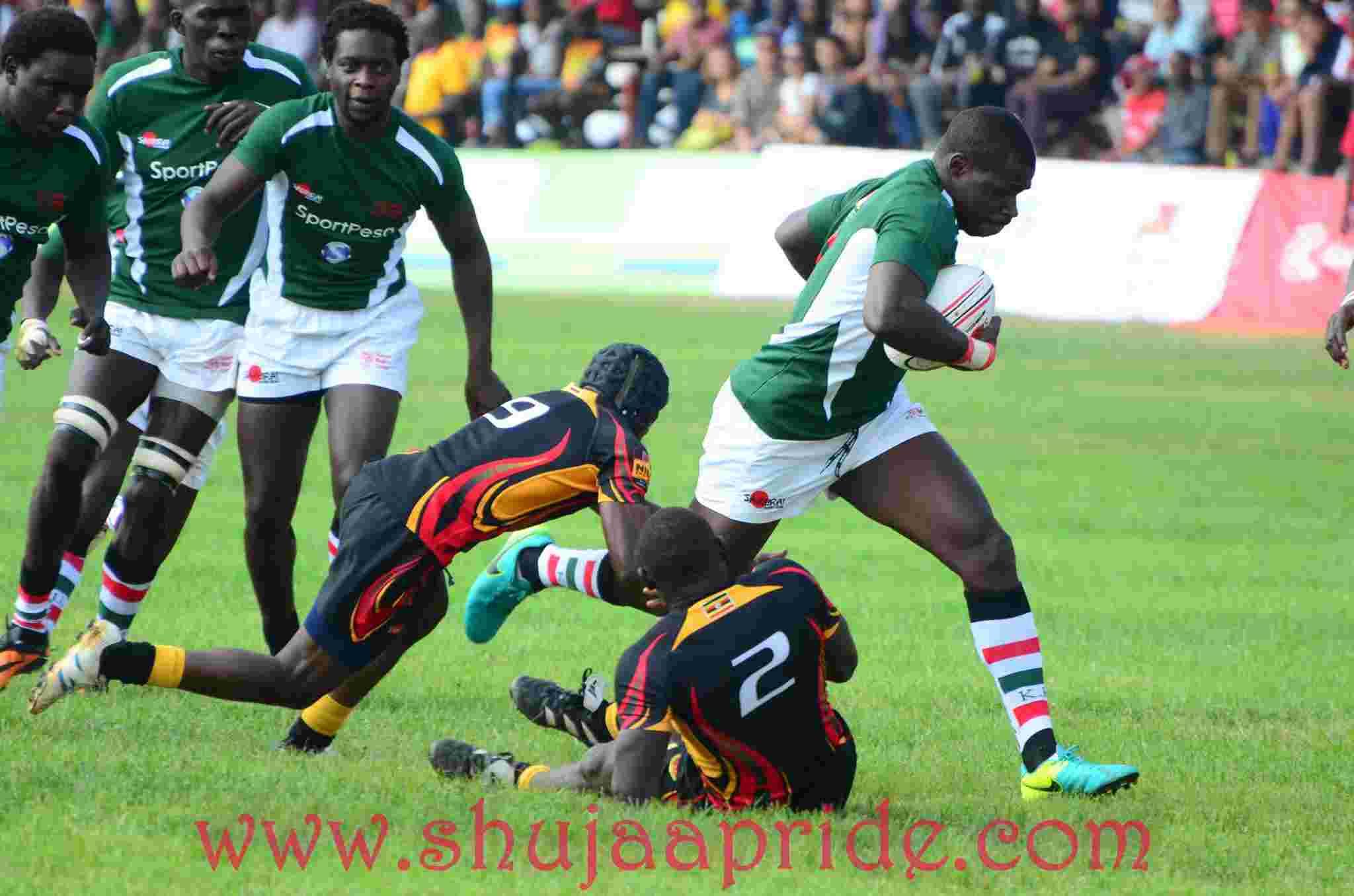Photos : Kenya vs Uganda | Tries, Penalties and hits