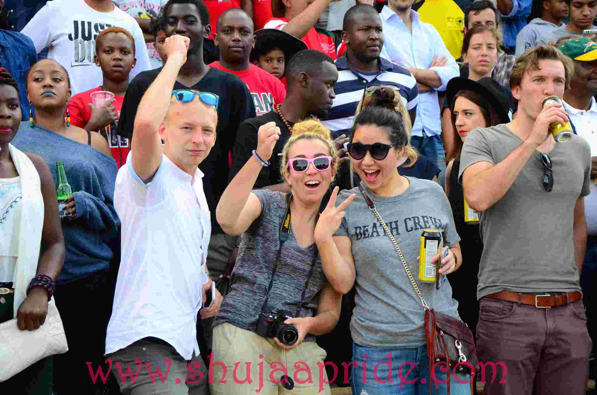 Photos : Loyal Fans at RFUEA Kenya vs Uganda