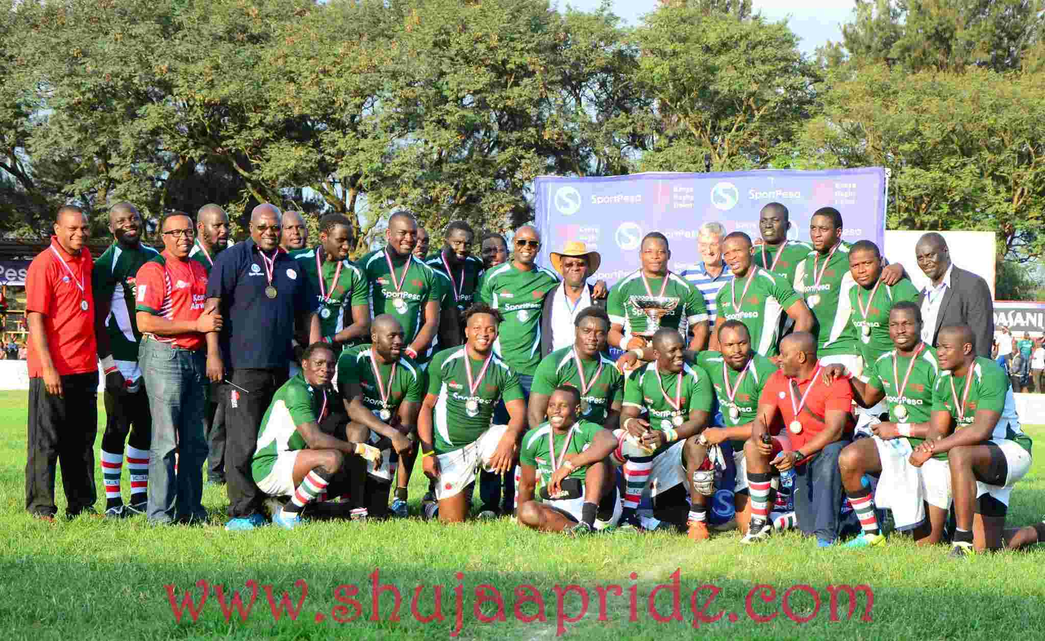 Kenya ranked 24th at World rugby standings