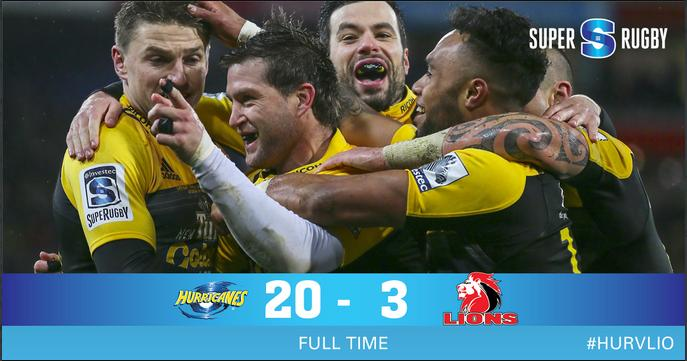 Highlights : Hurricanes vs Lions | Super Rugby Final