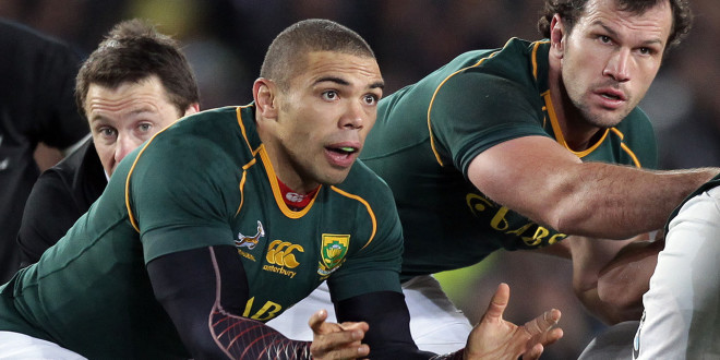 The Springbok squad for the Rugby Championship named