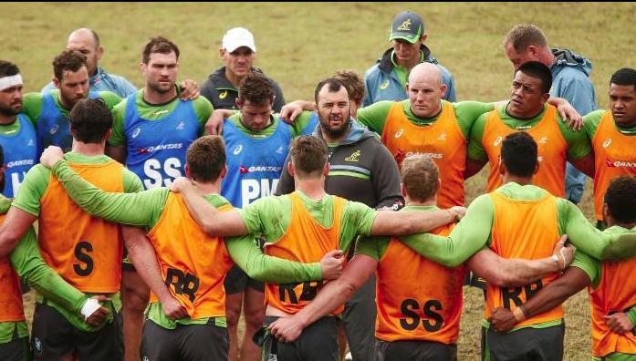 Australia's Rugby Championship squad