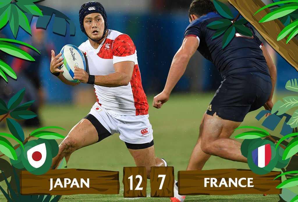 Japan shock France in Rio