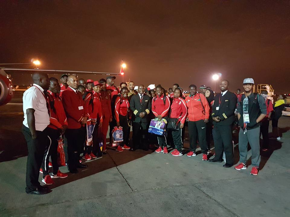 Kenya lionesses jet back home from Brazil