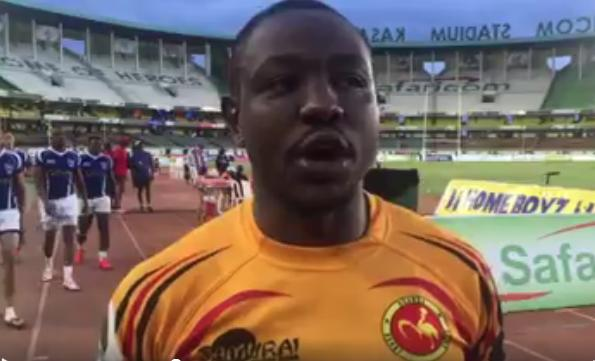 Eric Kasiita remarks after Uganda won the 2016 Africa Cup 7s