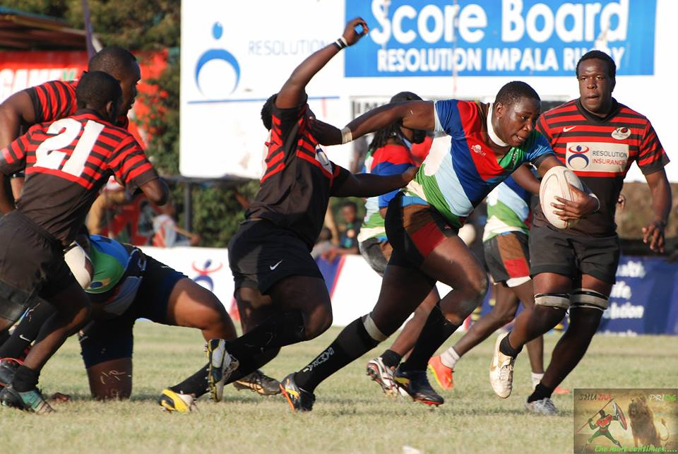 Kenya Harlequins Squad to play Impala Saracens (floodies)