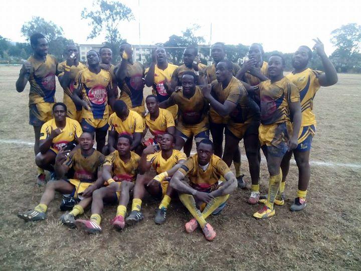 Menengai Homeboyz Rugby dance at the Churchill Show